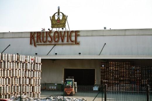 Пивной завод  Krušovice -- Megatour.cz