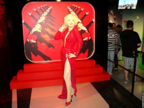 Marilyn-Monroe-in-Madame-Tussauds-Museum - MegaTour.cz