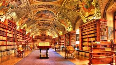 Страговская библиотека в Праге