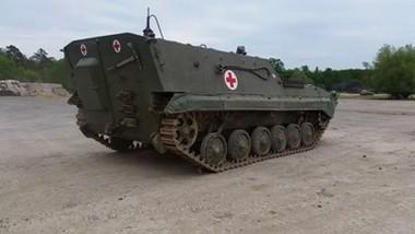 Развлекательный танкодром Миловице
