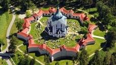 Церковь Святого Яна Непомуцкого в городе Ждяр-над-Сазавой