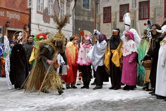 Masopust or Shrovetide in Czech Republic