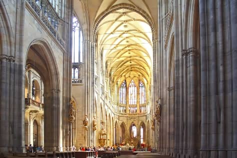 St. Vitus Cathedral inside