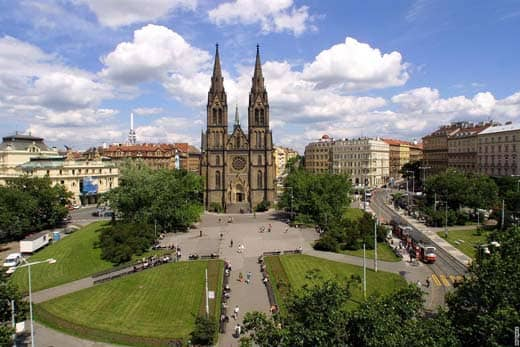 The Cathedral of Saint Ludmila - MegaTour.cz