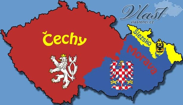 Historical lands of the Czech republic - MegaTour.cz
